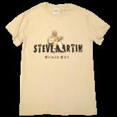 Steve Martin Sand Banjo Boy Tee