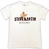 Steve Martin White Tee