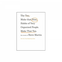 Steve Martin Book- Make That Ten