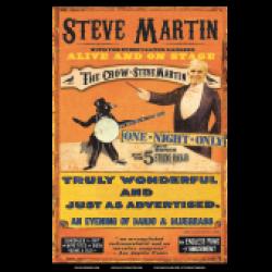 Steve Martin Tour Poster