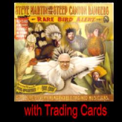 Steve Martin AUTOGRAPHED DELUXE CD- Rare Bird Alert