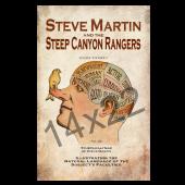 Steve Martin Brain Tour Poster