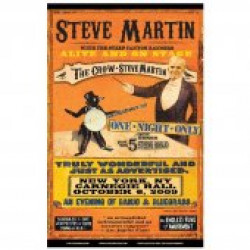 Steve Martin Poster- Select from 17 Cities Available